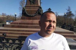 Правозащитника  Павла Глущенко вызвали в полицию для составления протокола о фейках.