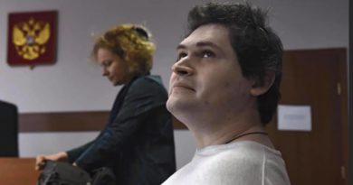 Гособвинитель требует приговорить фигуранта дела «Нового величия» Павла Ребровского к 7 годам колонии