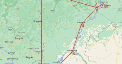 Тюремный маршрут за веру в Бога в 3,5 тысячи километров